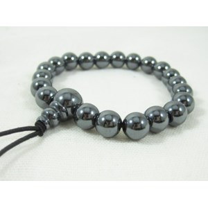 Haematite Power Bead Bracelet