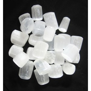 Selenite Tumble Stones (x3)