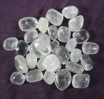 calcite tumble stones