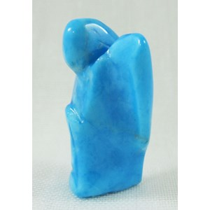 Turquoise Howlite Guardian Angel (small)