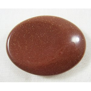 Red Goldstone Thumb Stone