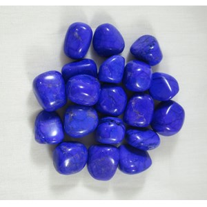 Purple Howlite Tumble Stones (x3)