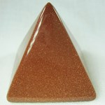 Red Goldstone Pyramid (Small)