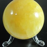 Orange Calcite Sphere