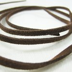 Brown Suede Cord 1m