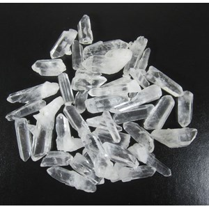 Clear Quartz Points (x3)