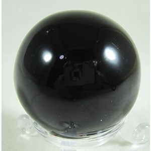 Black Sheen Obsidian Sphere (Large)