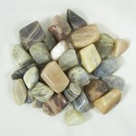 Shaded Moonstone Mix Tumble Stones (x3)