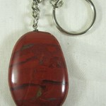 Red Jasper Keyring