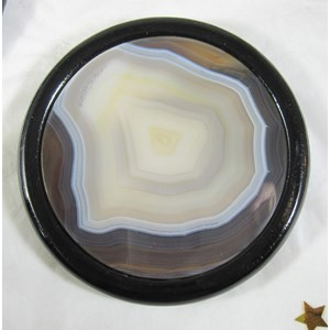Agate Coaster Set In Gift Box