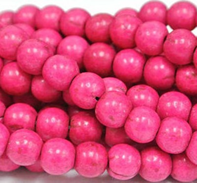 pink howlite beads