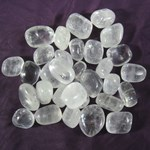 Clear Calcite Tumble Stones (x3)