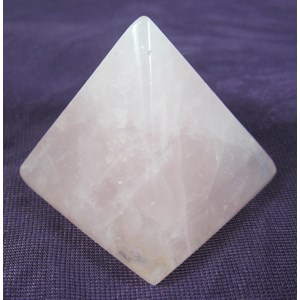 Rose Quartz Pyramid (small)