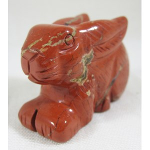 Red Jasper Rabbit