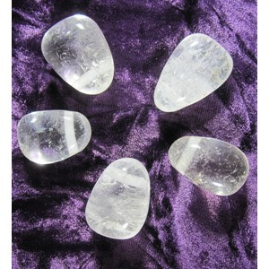 Clear Quartz Drilled Pendant (X1)