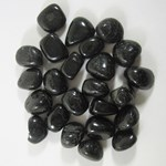 Black Tourmaline Tumble Stones (x 3)