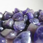 Amethyst Tumbled Chips C grade (x 10)
