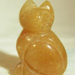 Ginger Agate Cat