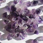 3 x Amethyst points V Small