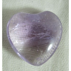 Mini Amethyst Heart