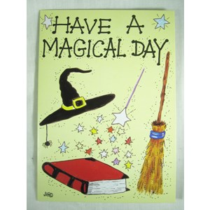"""Have a Magical Day"" Greetings Card"
