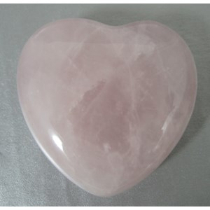 Rose Quartz Heart (Small)