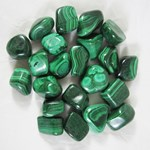 Malachite Tumble stones (x 1)