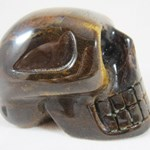 Tigers Eye Skull (large)