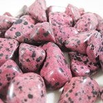 Red Dalmation Jasper Tumble Stones (3)
