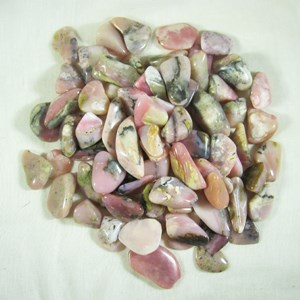 Pink Opal Tumbled Chips (3)