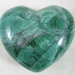 Malachite Howlite Heart