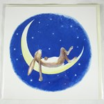 Moon Dreamer Greetings Card