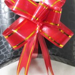 Red & Gold Gift Bow