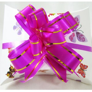 Pink & Gold Gift Bow