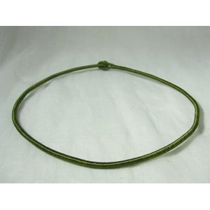 Cotton Olive Neck Cord