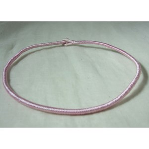 Cotton Pink Neck Cord