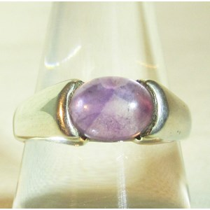 Held Amethyst Ring (Size P)