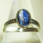 Blue Kyanite Ring (Size N)