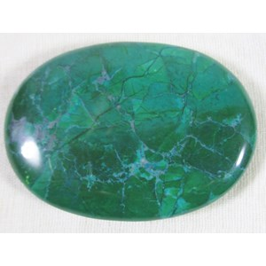 Malachite Howlite Palm Stone