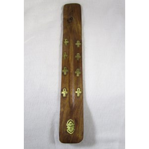 Scarab Incense Ash Catcher