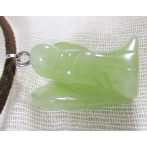 New Jade Angel Pendant (small)