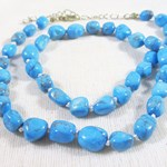 Turquoise Howlite Necklace