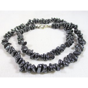 Haematite Chip Necklace