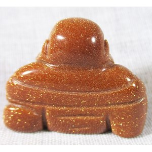 Red Goldstone Buddha (small)