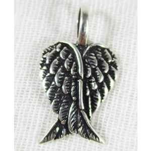 Silver Wings Pendant (small)