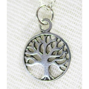 Silver Tree Pendant (small)