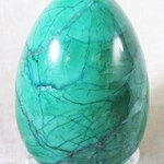 Malachite Howlite Egg