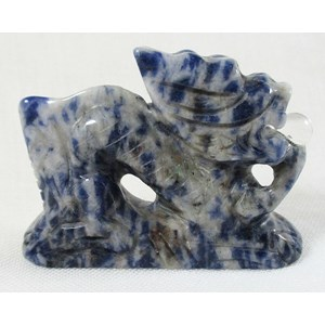 Sodalite Dragon