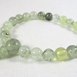 Prehnite and Tourmaline Power Bracelet