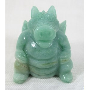 Green Aventurine Dragon (medium)